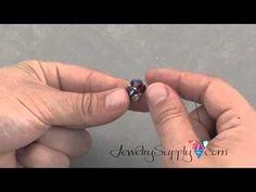 Pinch bead beads tutorial...