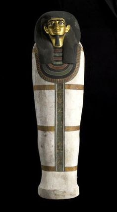 The coffin of the Estate-Overseer Khnumhotep is the earliest coffin in our display. Almost 4,000 years old, the coffin dates from c.1938-1755 BC.