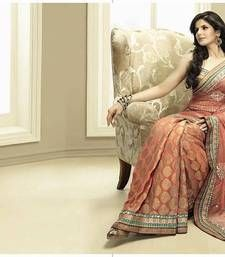 Georgette saree with embroidery.Blouses shown in the Image may not be the part of standard product. Extra material may have been used for modeling purposes.The shades may vary slightly from the colors displayed on your screen. Colour Variation There may be slight variations in colour of the actual product as compared to that shown on the website. This is mostly due to nature of fabric dyes, weather at the time of dyeing and the manual dyeing process. There may also be a slight difference in ...