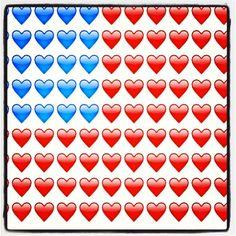 fourth of july emoji art
