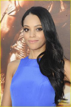 Bianca Lawson- Bree Lenoir- Site manager- friends with Gwen, after she saved her from being run over by a cab. (Sir Breunor le Noir)