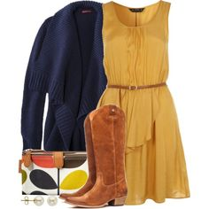 """""""'Round Town"""" by qtpiekelso on Polyvore"""