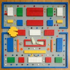 Pacman Lego. Cool!