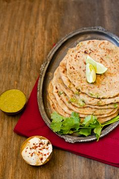 "Aloo Matar Paratha...ahhh! (""A Guest Post by Prerna of Indian Simmer"")"