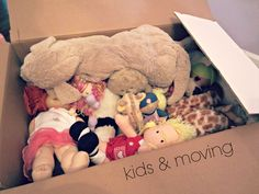 What kids worry about when moving