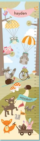 petit lemon, boy bedroom, owl, woodland fun, growth charts, nurseri, babi girl, babi stuff, kid
