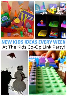 New Kids Ideas every Thursday at The Weekly Kids Co-Op Link Party!