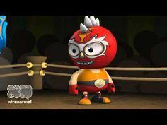 Burly Hyperbole Luchador- funny video teaching hyperbole