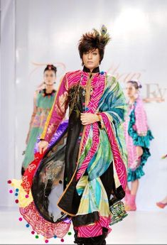 Rohit Verma was the showstopper for her opening show on the second day of Rajasthan Fashion Week.