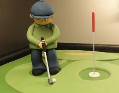 Golf Themed 60th Birthday Cake Queen Of Cakes