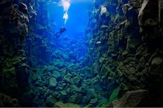 The Silfra Day Tour is Icelands' most popular dive tour where you will be diving in the famous Silfra fissure right between the American and the European continents. The Silfra fissure contains some of the clearest water on this planet