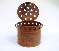 Antique French Room Foot Warmer Primitive by FrenchMarketFinds, €22.00