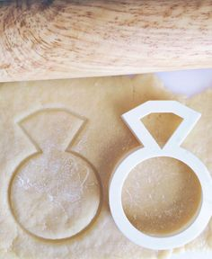Perfect for a bridal shower! Wedding Ring Cookie Cutter by HomePrint3D on Etsy, $5.00