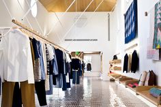 A.P.C. flagship store Los Angeles US