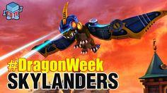 Skylanders DRAGON WEEK Drobot #skylanders #dragonweek #videogame #toys #colleccting