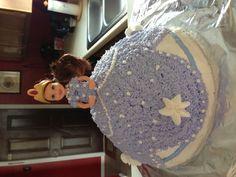Sofia the First Birthday Cake.