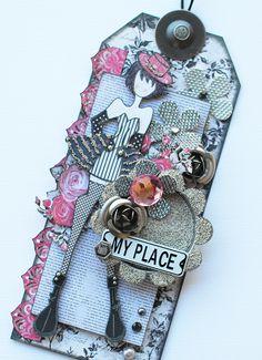 """NEW """"Prima"""" Julie Nutting Doll Stamp... - Scrapbook.com"""