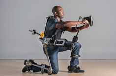 lockheed martin fortis exoskeletons tested for U.S navy military SEALs - designboom | architecture