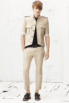 yes. menswear collect, complet collect, balmain spring, 2013 menswear, attent pleas, spring 2013, male fashion