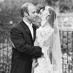 bridal veils, lace veil