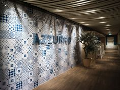 Azzurro restaurant by Andrin Schweizer Company, Zurich hotels and restaurants