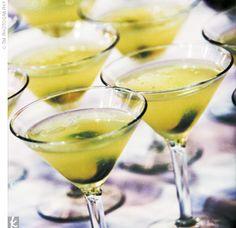 Cucumber-Elderflower Cooler    What You Need        2 slices of cucumber (1 for muddling and 1 for garnish)      1/2 oz. fresh lemon juice      1/4 oz. simple syrup*      1 oz. organic cucumber vodka      3/4 oz. elderflower liqueur      Splash of champagne      Cucumber slice, for garnish        How to Make It        In a mixing glass, muddle cucumber in lemon juice and simple syrup.      Add ice, vodka, and liqueur.      Strain into a chilled martini glass.      Top with a splash of champagne.      Garnish wit...