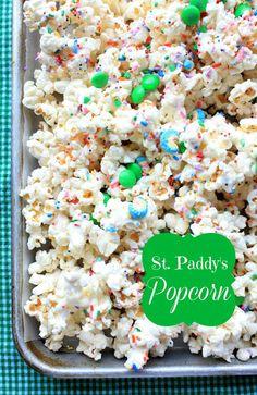 St. Paddy's Popcorn by Munchkin Munchies.