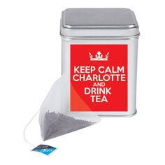 Keep Calm Tea Tin