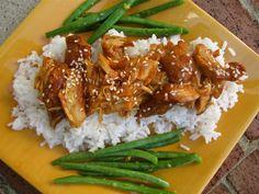 Stephanie Cooks: Crockpot Honey Sesame Chicken