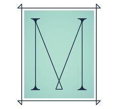 M | Daily Drop Cap
