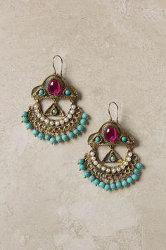 Komnene chandelier earrings