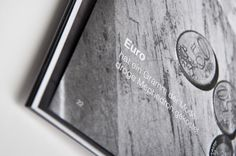 Caritas annual report by moodley brand identity , via Behance