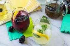 Grown-Up Lemonade Bar - The Kitchenthusiast