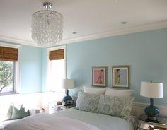 bedroom via Newport Beach Classic Home Tour