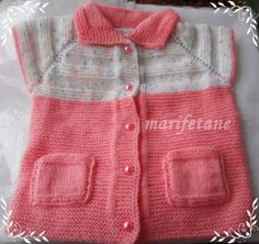 Cepli Örgü Bebek Yeleği Modelim: http://www.marifetane.com/2014/09/cepli-orgu-bebek-yelegi-modeli.html