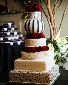 CAKE TWO HUNDRED EIGHTEEN, Wedding Cakes by Dawna, LLC - http://www.utahcakes.com/caketwohundredeighteen.html