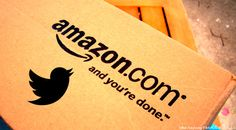 Amazon box with Twitter bird superimposed on top. Edited by TPM. Original image by Mike Seyfang, posted to Flickr with CC-by-SA 2.0 license (share alike).