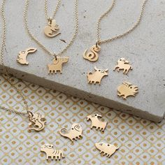 what's your sign? the perfect birthday gift - our chinese zodiac charm necklace