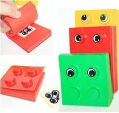 Building Block Style Notepad