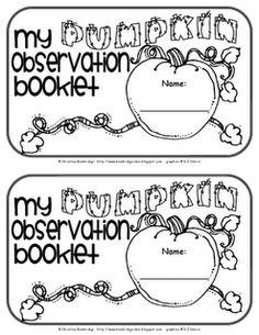 Pumpkin Book Freebie!