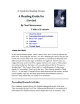Unwind Reading Group Guide