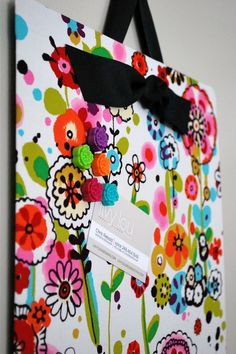 Fabric covered magnetic board