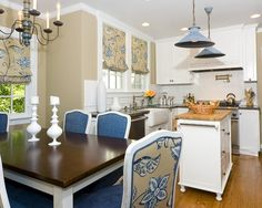 Traditional Kitchen Blue And White Kitchens Design, Pictures, Remodel, Decor and Ideas - page 8