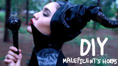 DIY Maleficent's horns (English subtitles) EASY and gorgeous horns! Might find a way to modify for the run disney marathon...