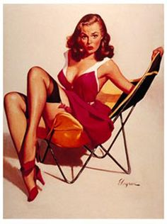 10 Ultra-Cool Vintage Pinup Posters | Smashing Tops