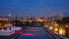 Skybar, Hotel Unique, Sao Paulo