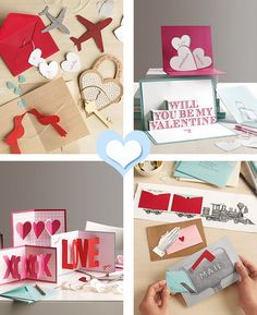I want to make homemade Valentines.