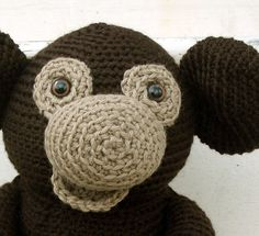 Amigurumi PATTERN: Crochet Monkey -pdf-