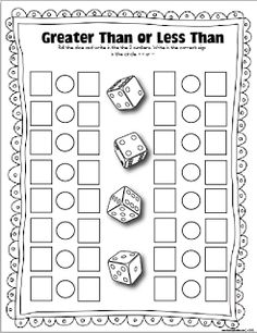 The Lesson Plan Diva: FREE Dice Games