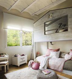 bunks for girls / el mueble